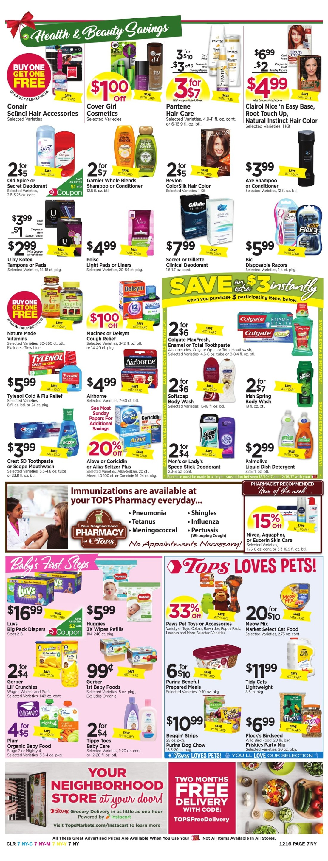 Tops Markets Ad Preview Week 12 10 Page 7