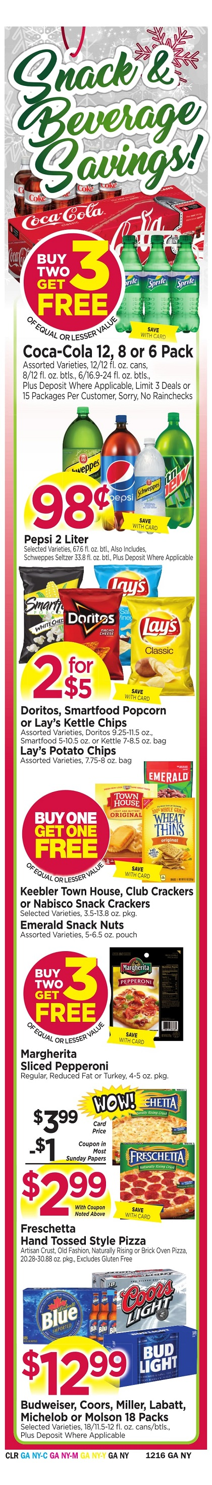 Tops Markets Ad Preview Week 12 10 Wrap