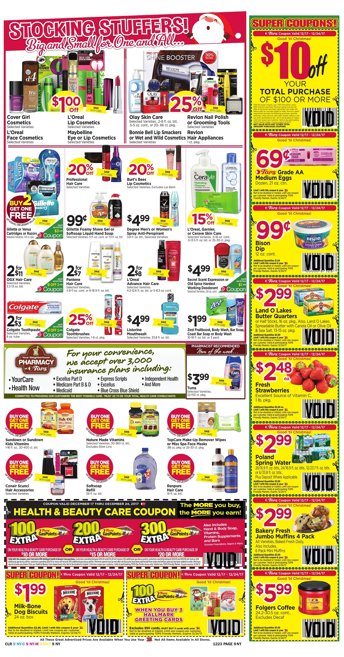 Tops Markets Ad Scan Week 12 17 Page 9