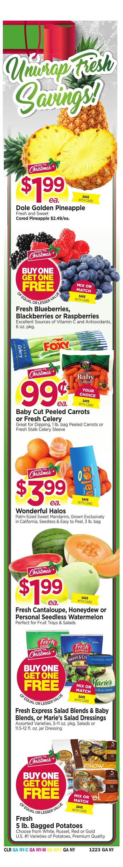 Tops Markets Ad Scan Week 12 17 Wrap