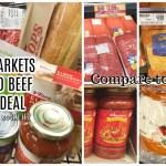 Tops Markets Ground Beef Price Comparison To Wegmans