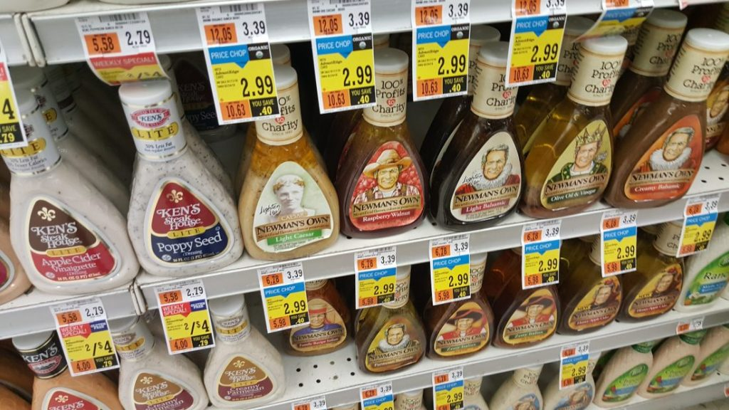 Newman's Own Salad Dressing at Price Chopper