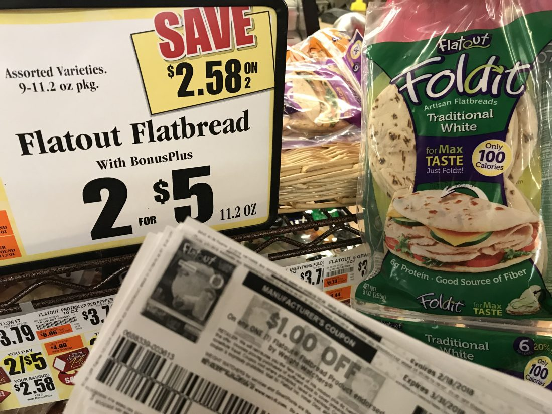 Flatout Bread At Tops Markets
