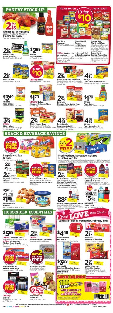 Tops Markets Ad Preview Week 1 28 18 Page 5