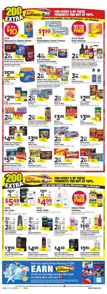 Tops Markets Ad Preview Week 1 28 18 Page 6