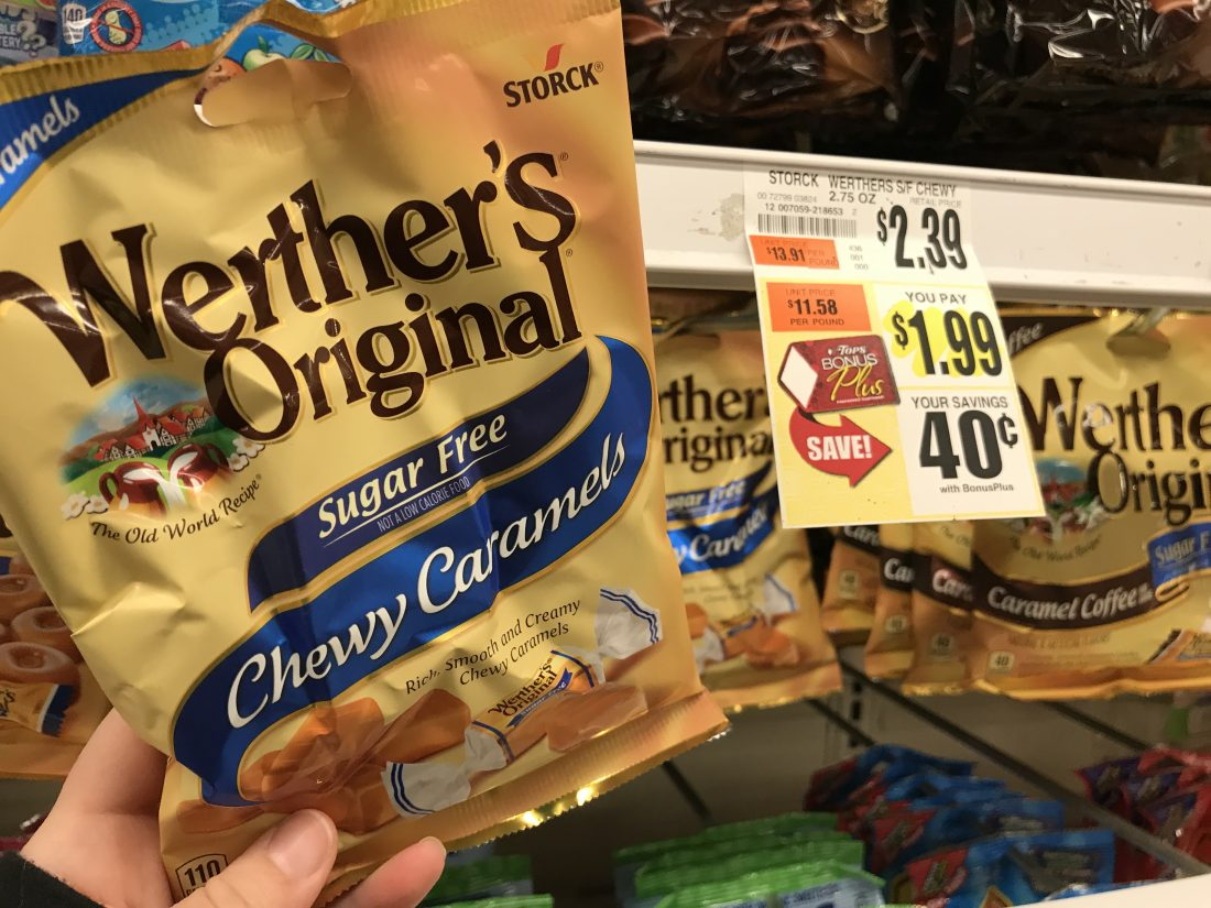 Werther's Caramels At Tops Markets