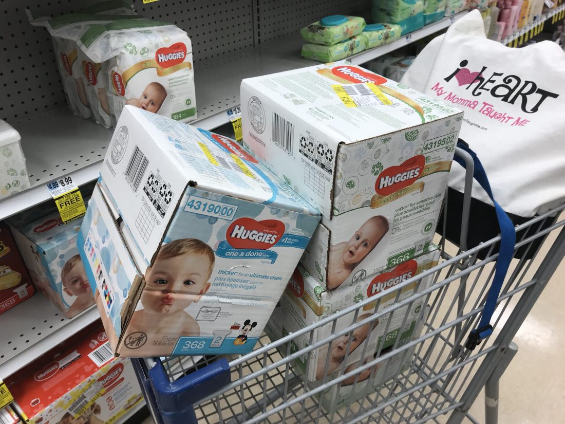 What?! Buy One Get One FREE Huggies Wipes including Large Boxes!
