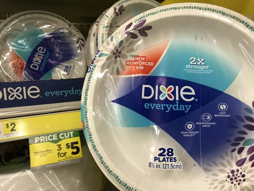 Dixie Plates Sale At Dollar General