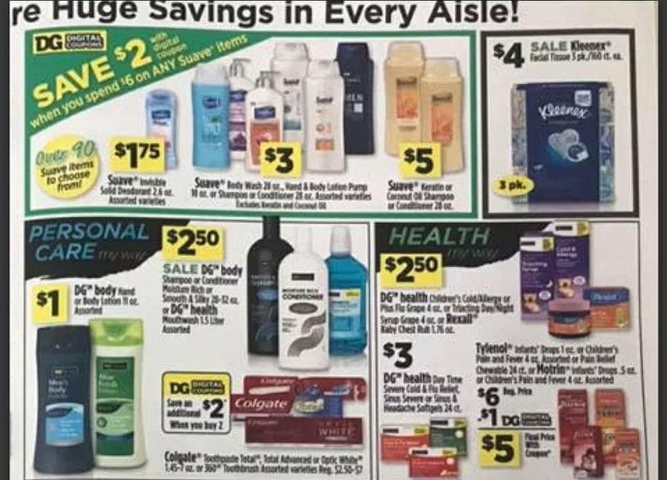 Dollar General Ad Scan Week 2 11 18 Page 3