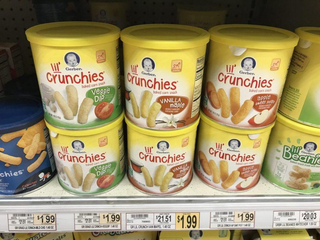 Gerber Lil Crunchies At Wegmans