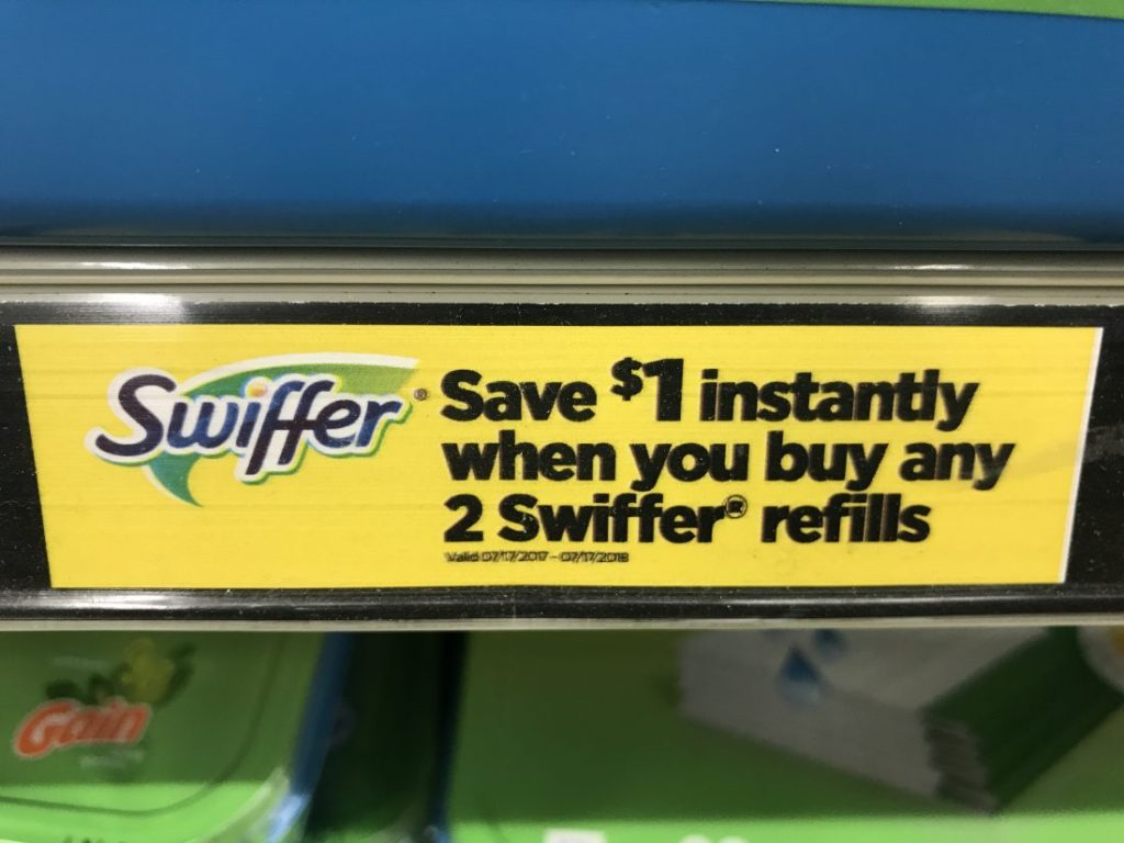 Swiffer Instant Savings At DG