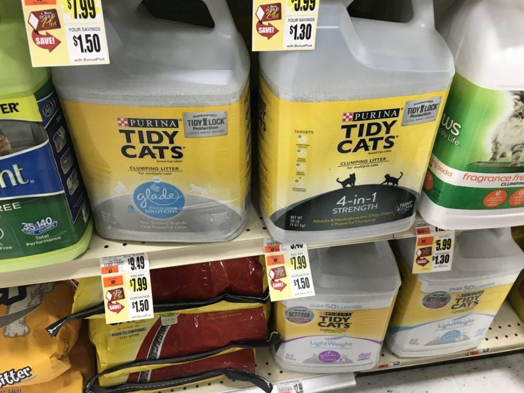 Tidy Cats At Tops