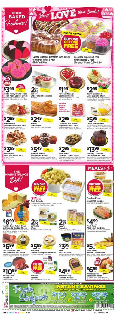 Tops Markets Ad Scan Week 2 11 Page 3