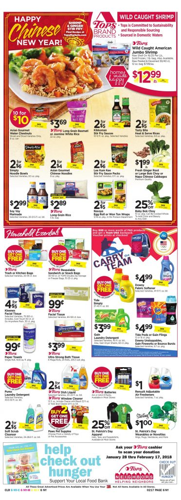 Tops Markets Ad Scan Week 2 11 Page 6