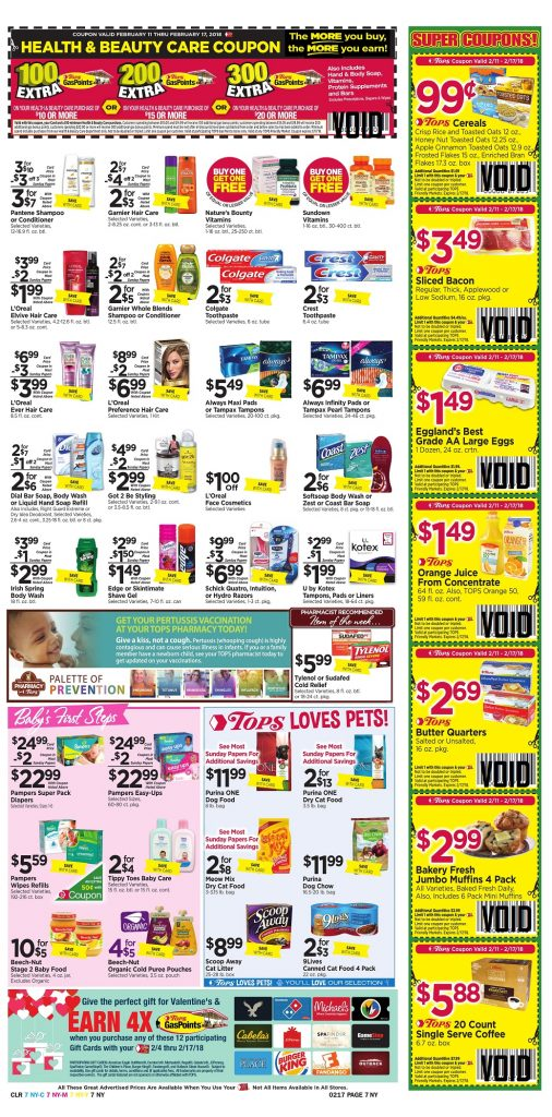 Tops Markets Ad Scan Week 2 11 Page 7