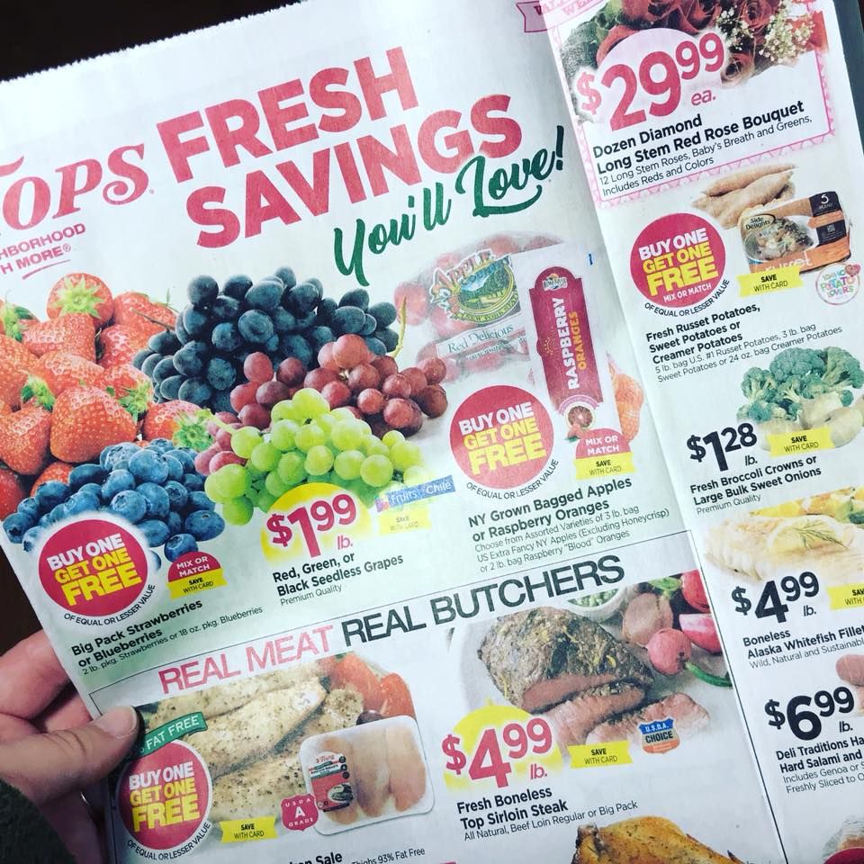 Tops Markets Ad Scan Week 2 4