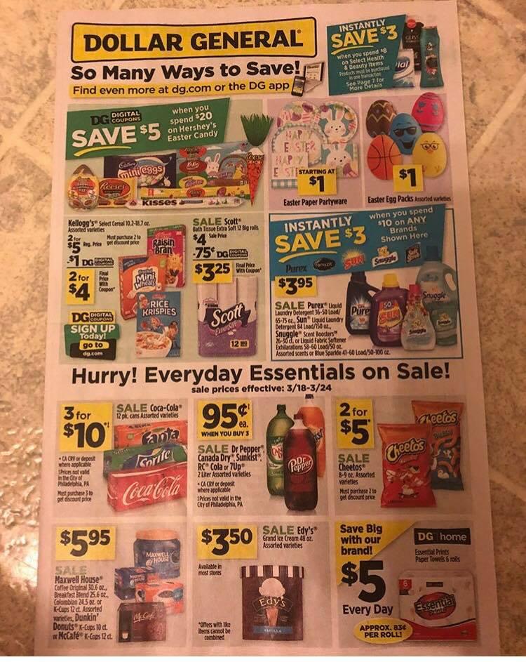 Dollar General Ad Week 3 18 (5)