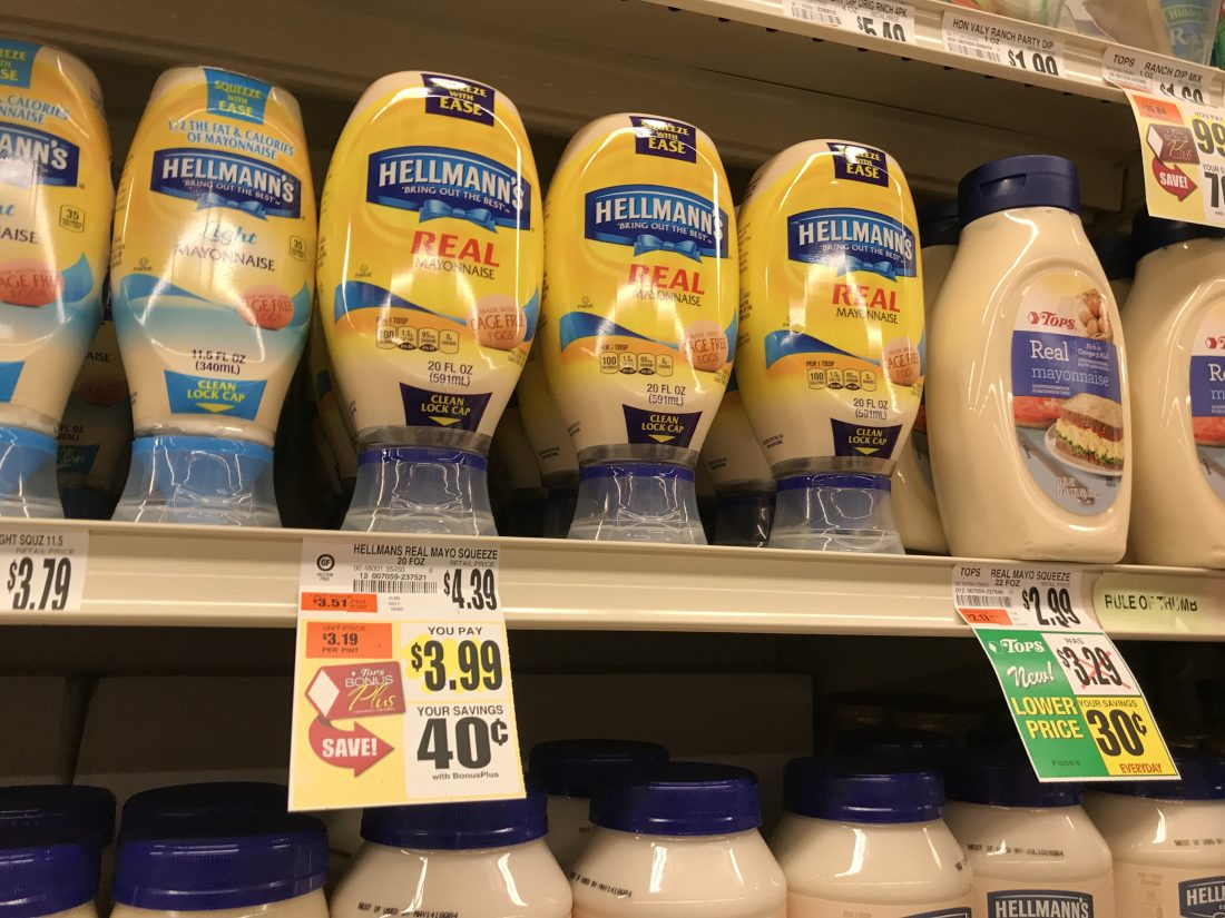 Hellmann's At Tops Markets
