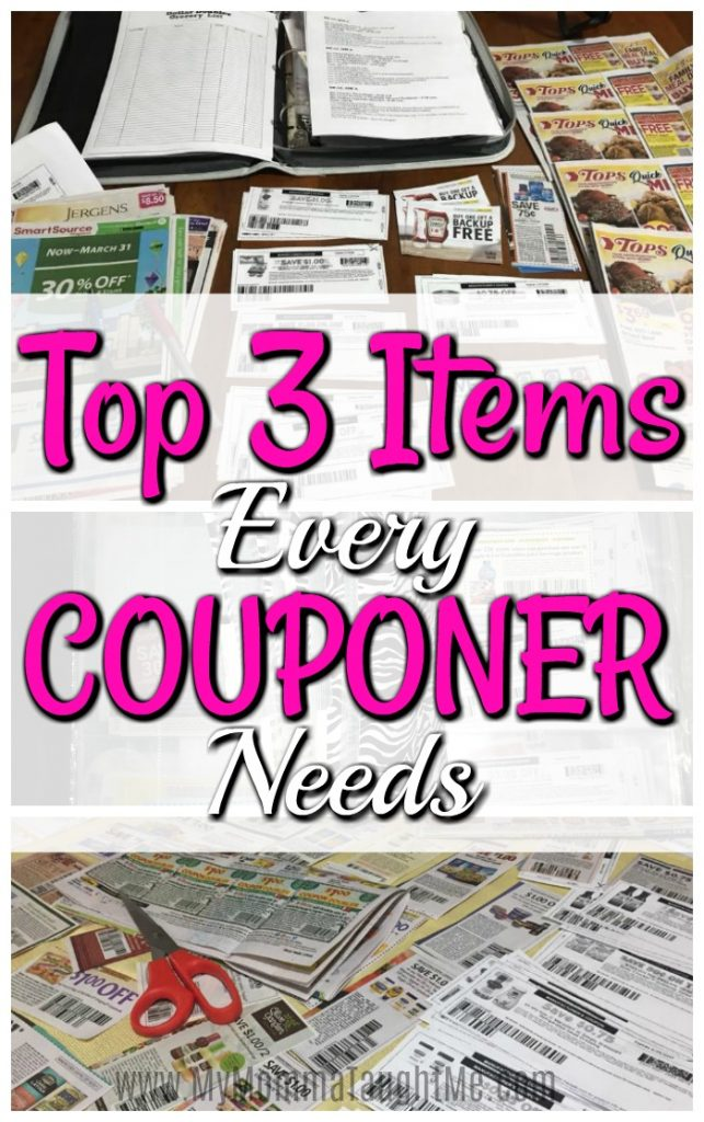Top 3 Items Every Couponer Needs