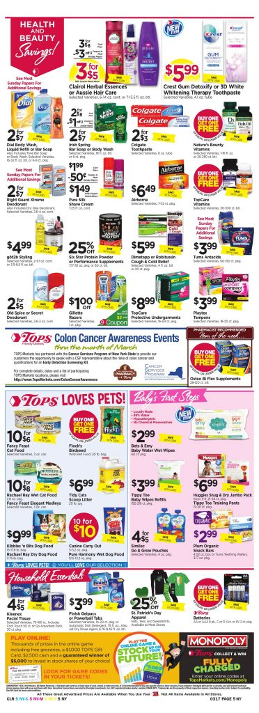 Tops Markets Ad Preview Week 3 11 18 Page 5