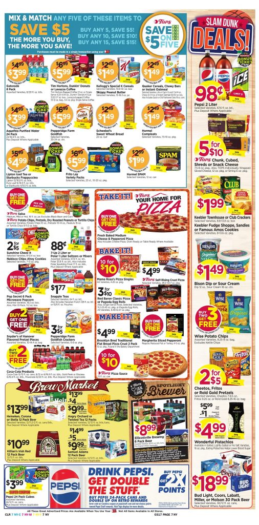 Tops Markets Ad Preview Week 3 11 18 Page 7