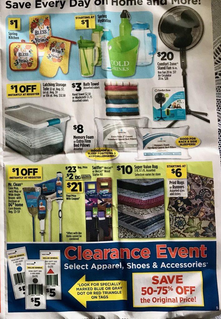 Dollar General Ad Week 4 15 18 P5