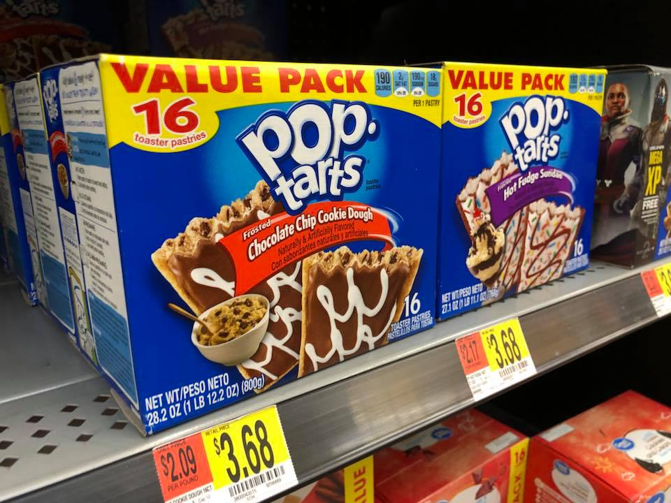 Kellogg's Pop Tarts 16 ct Boxes at Walmart