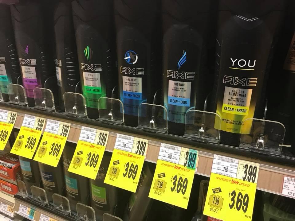 Axe Hair Care ONLY $1.69 at Wegmans