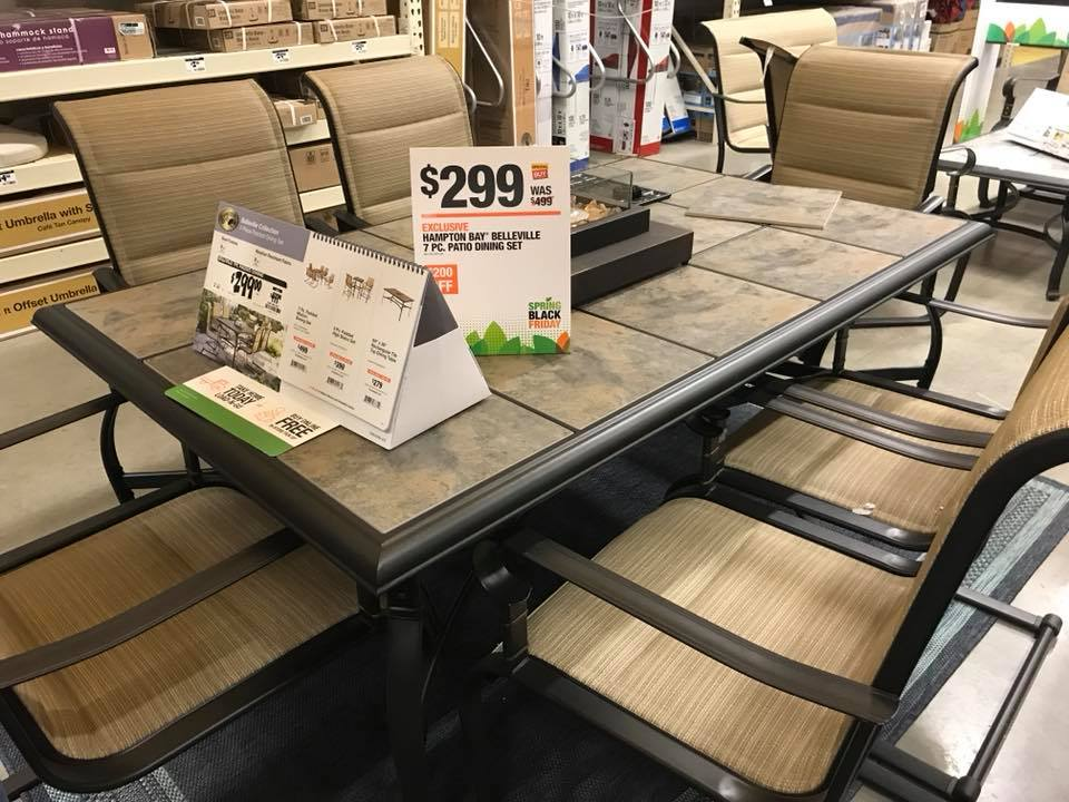 Home Depot Table