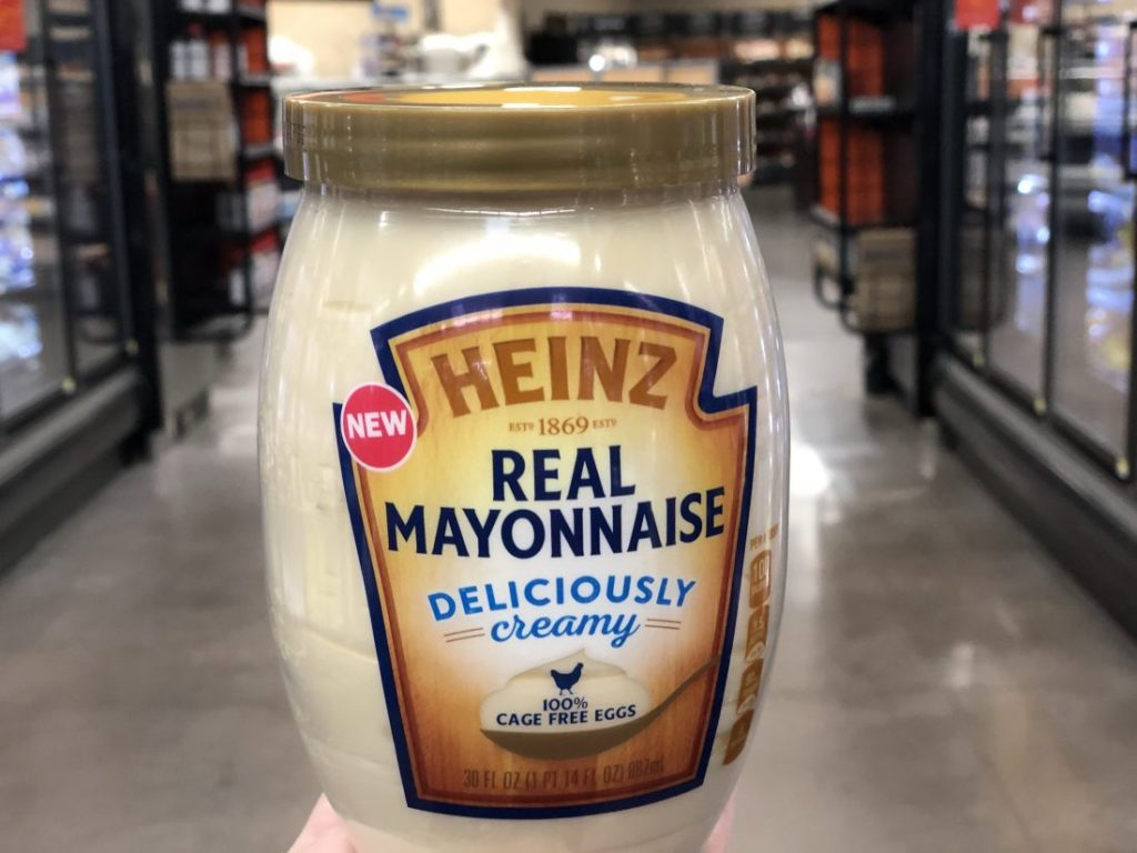 FREE Heinz Real Mayonnaise when you purchase a Heinz Ketchup bottle at Walmart!