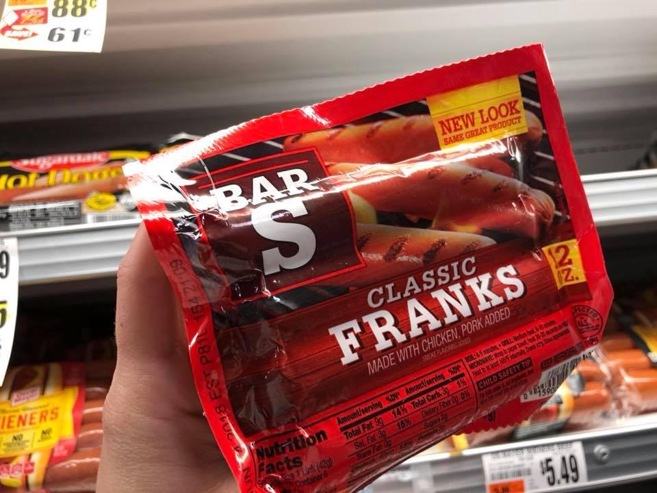 Bar S Hot Dogs