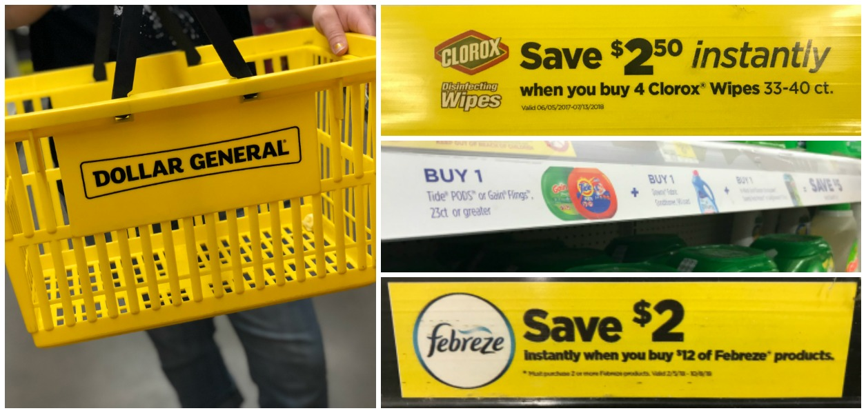 BIG List Of Dollar General Instant Savings Offers