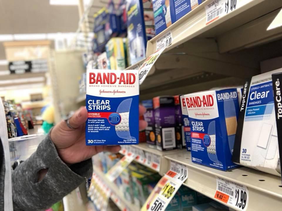 Band Aids At Tops