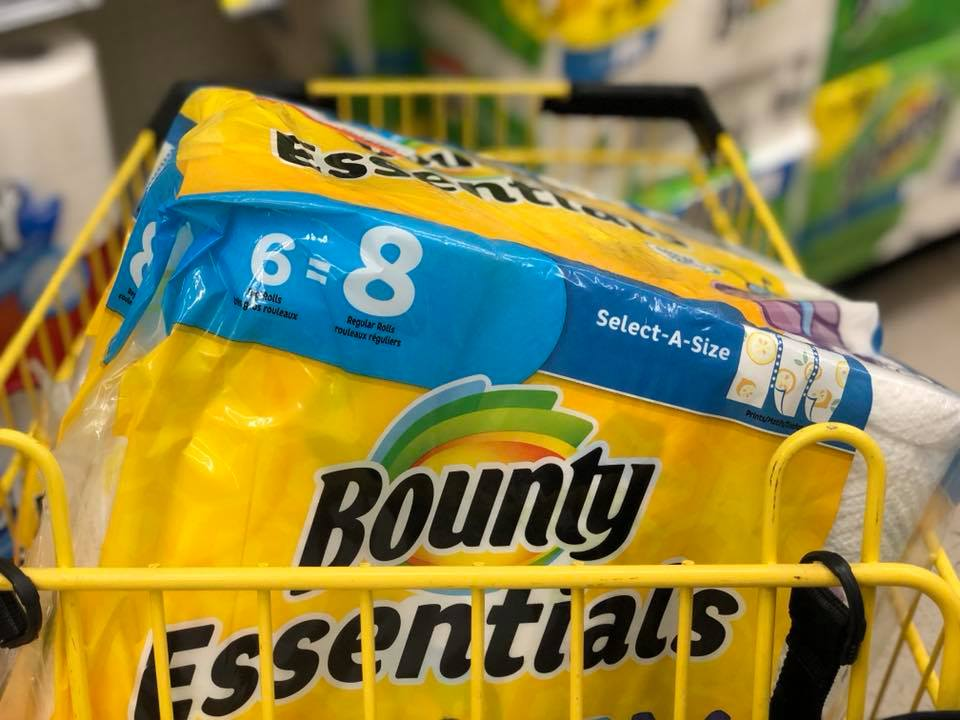 Bounty Essentials Paper Towels Deal Starting 6-24