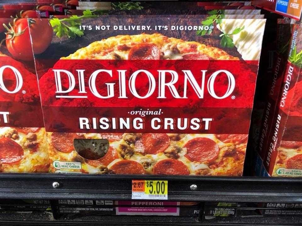 Digiorno Pizza At Walmart 2