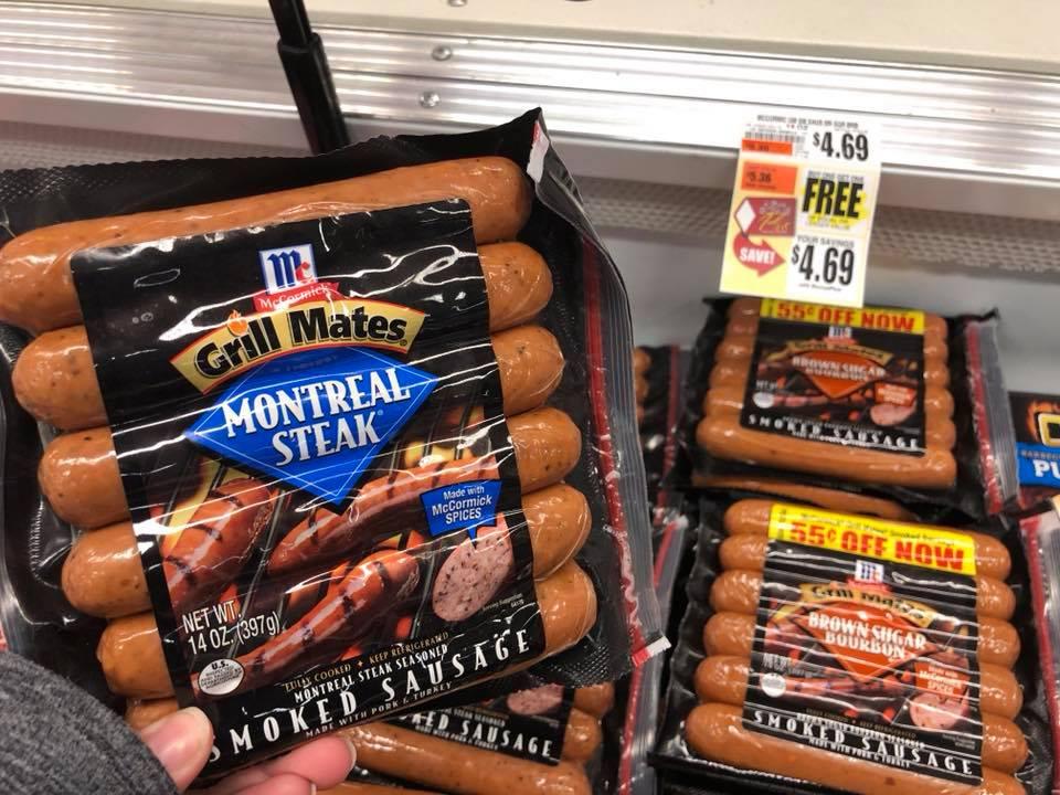 Grill Mates Smoked Sausage Bogo