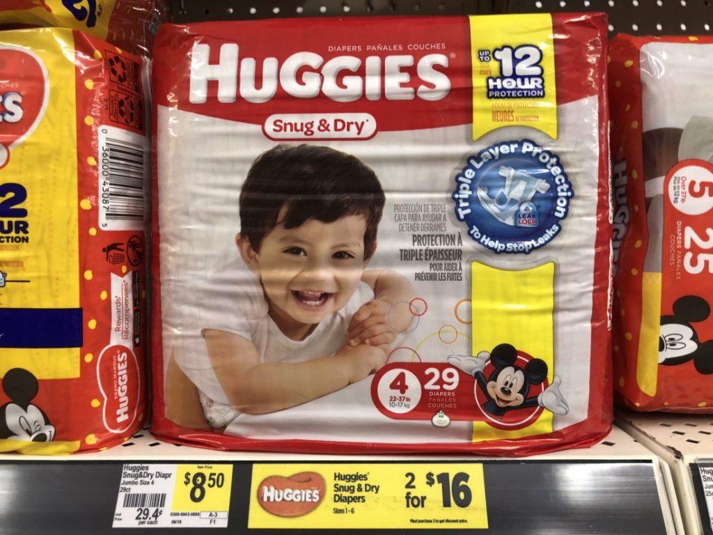Huggies Diapers at Dollar General