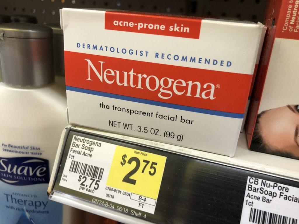 Neutrogena Acne Bars Soap for FREE