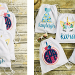 Personalized Drawstrings Unicorn, Mermaid & More