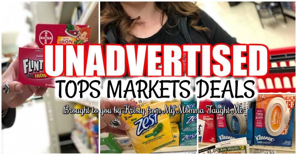 Tops Unadvertised Deals Week Of Dollar Doublers 7 29