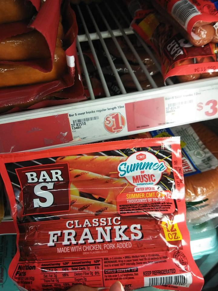 Bars Hotdogs