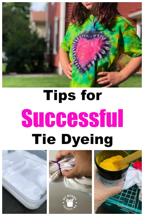 Best Known Tips For Successful Tie Dyeing