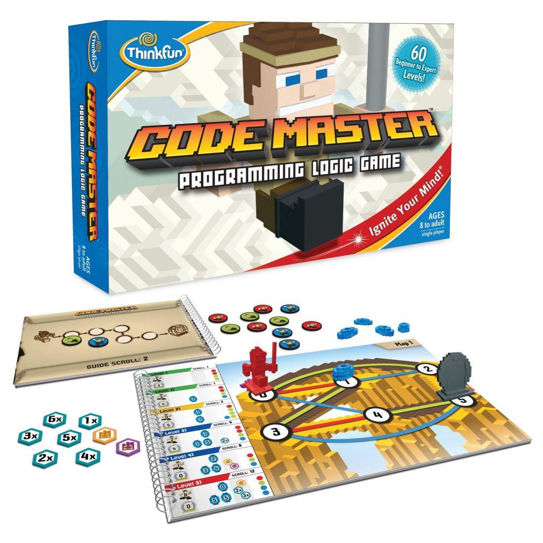 Think Fun Code Master Programming Logic Gam