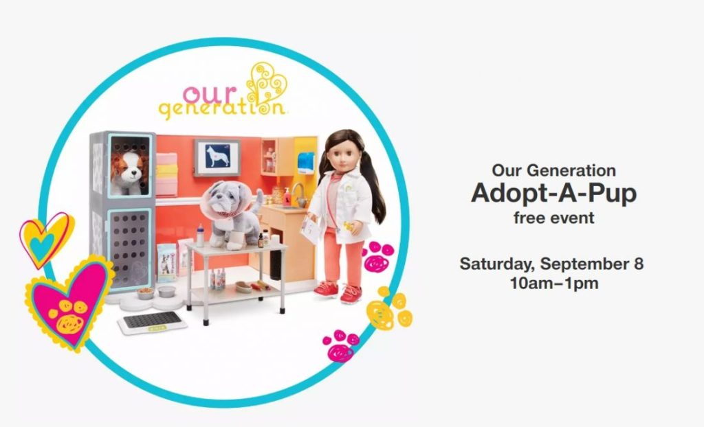 Our Generation Adopt-A-Pup Event at Target