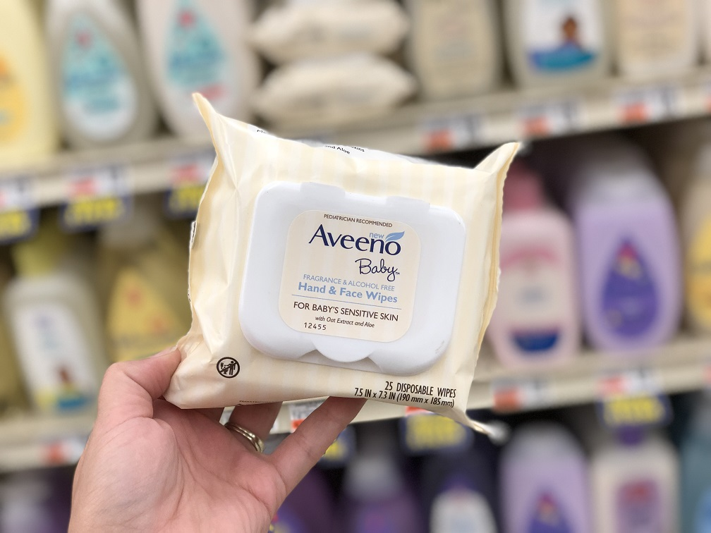 Aveeno Baby Products as low as $0.49 each