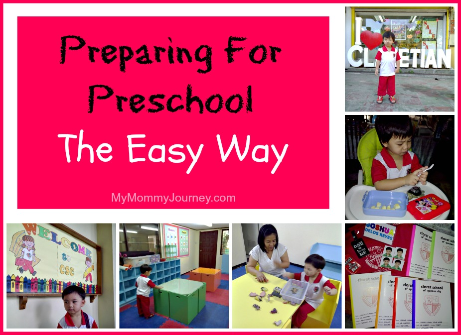 Preparing For Preschool The Easy Way
