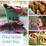 25 Road Trip Snacks for Kids + Recipes