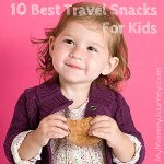 The 10 Best Travel Snacks for Kids