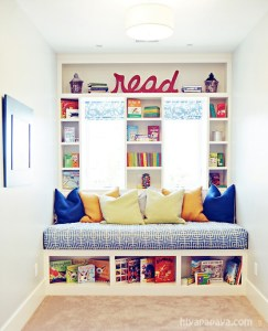 kids reading nooks, reading nook, reading nook ideas