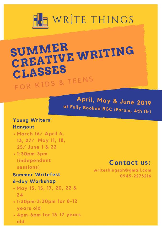 creative writing for kids, summer creative writing classes, summer classes for kids, summer classes for kids 2019